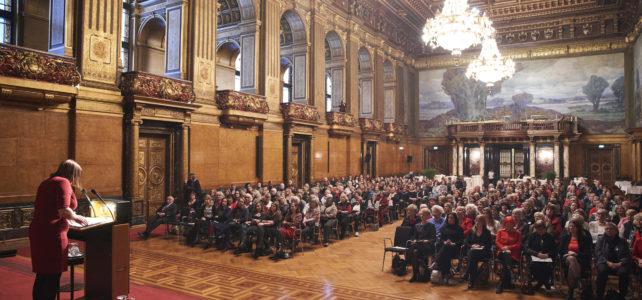 Senatsempfang in Hamburg: 100 Jahre Frauenwahlrecht